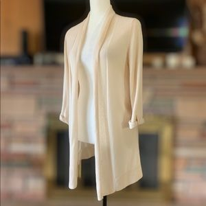 Design History Pure Cashmere Duster Cardigan Med